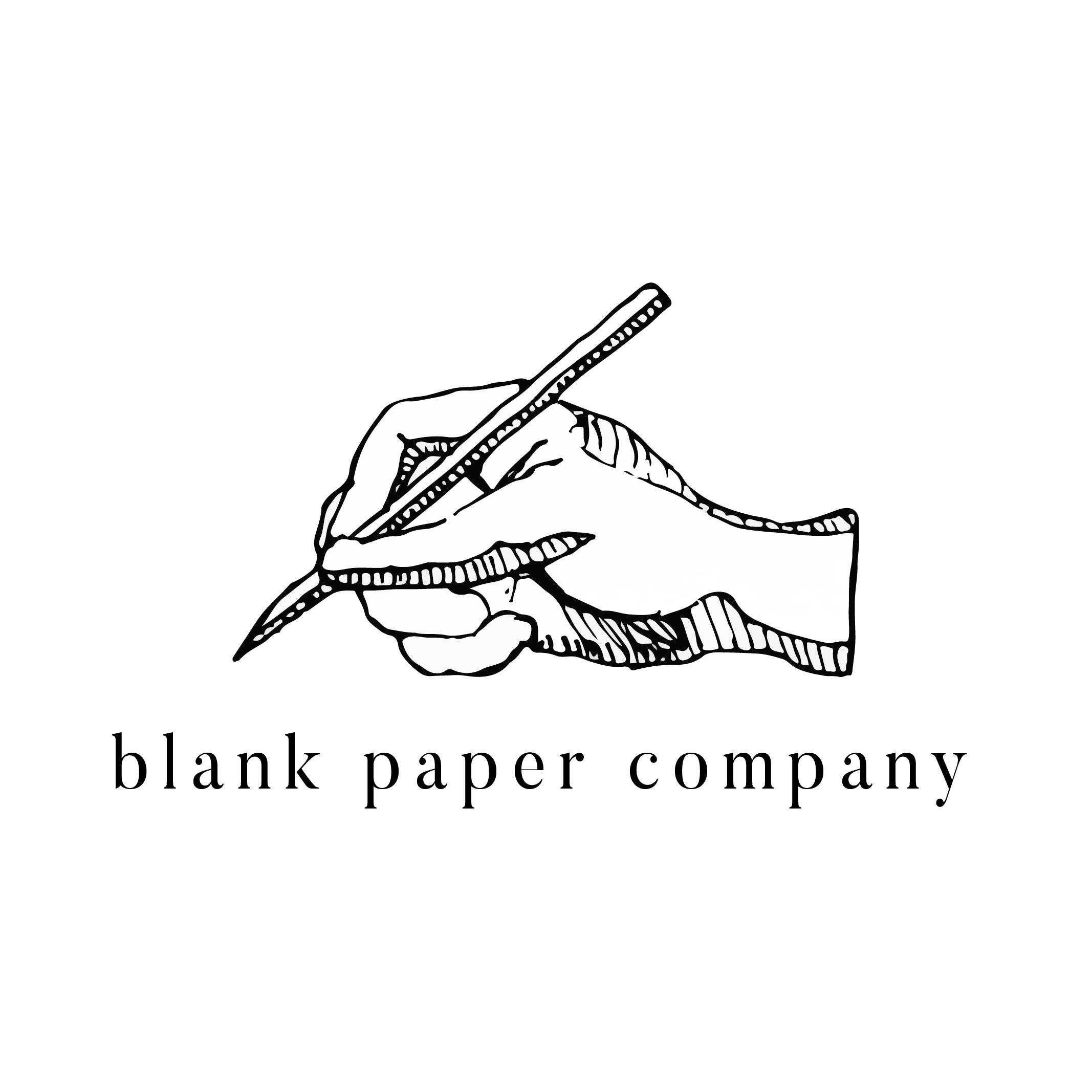 blank paper company画像